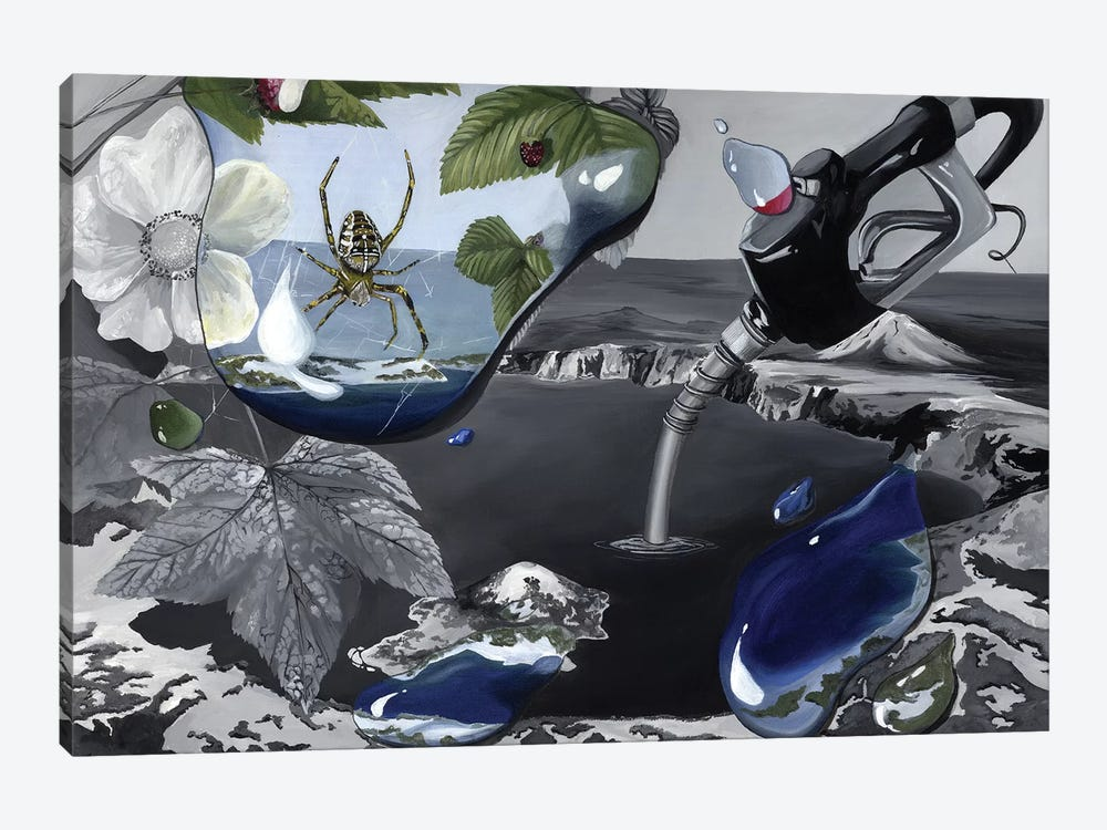 OR Book by Kristin Llamas 1-piece Canvas Art Print