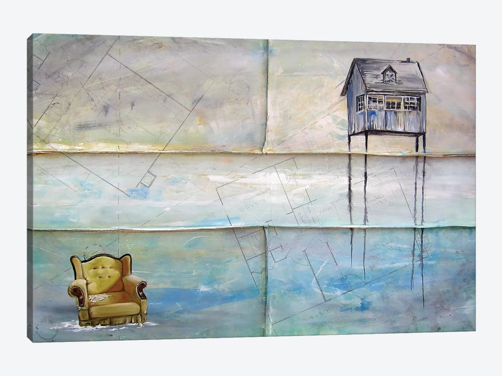 Remnants Of Home by Kristin Llamas 1-piece Canvas Print