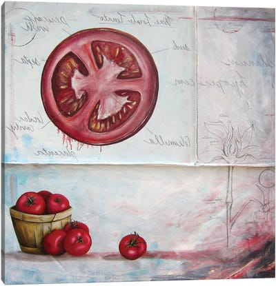 S L Tomato Canvas Art Print