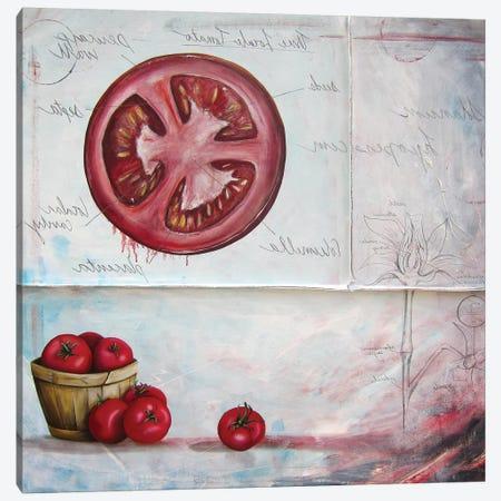 S L Tomato 3-Piece Canvas #KLL91} by Kristin Llamas Canvas Print