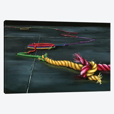 Unity Knot Canvas Print #KLL97} by Kristin Llamas Canvas Wall Art