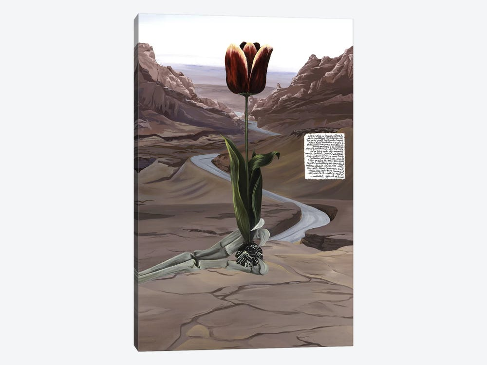 UT Book by K Llamas Fine Art 1-piece Art Print