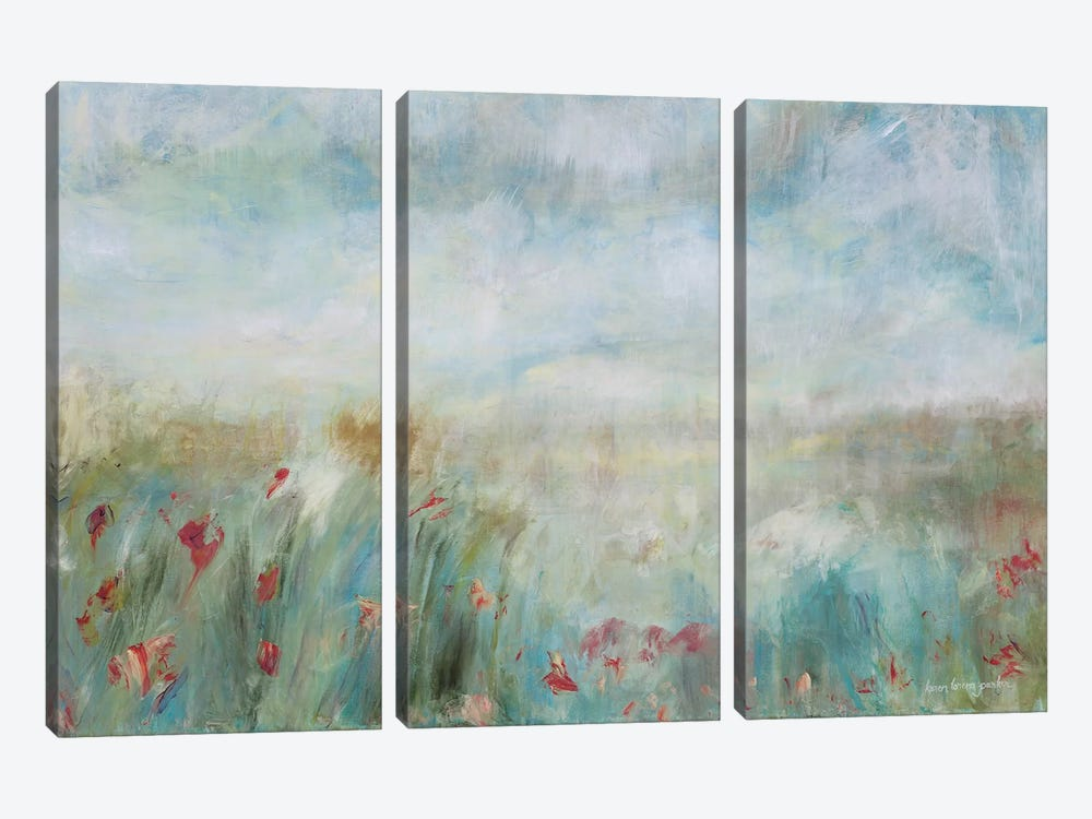Wild Garden by Karen Lorena Parker 3-piece Canvas Art Print