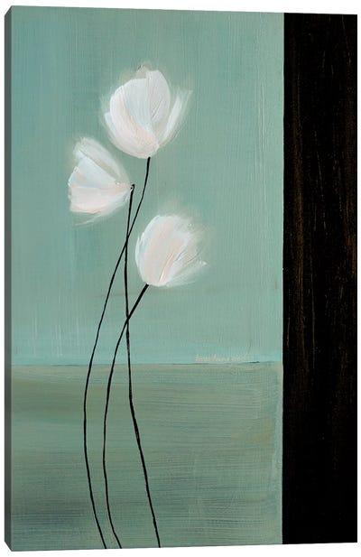Aqua Breeze II Canvas Art Print