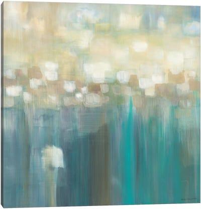 Aqua Light Canvas Art Print