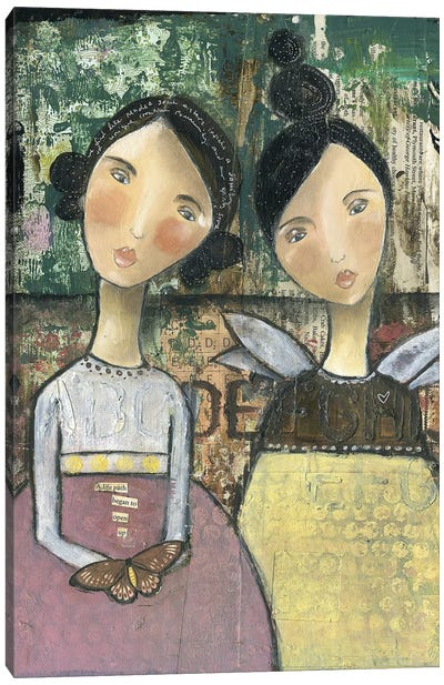 Soul Sisters Canvas Art Print