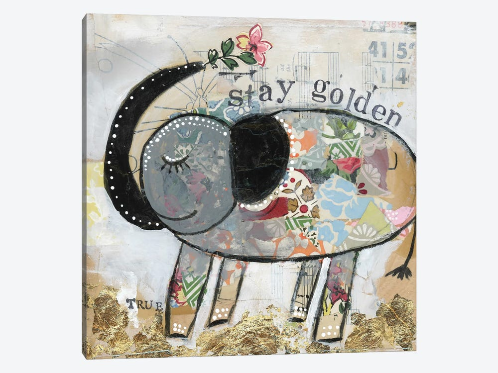 Stay Golden by Kelly Rae Roberts 1-piece Canvas Wall Art
