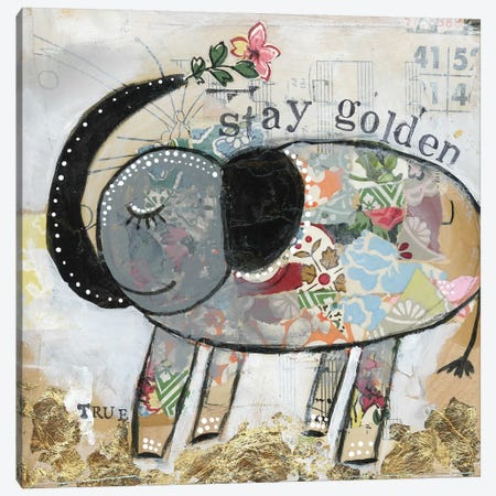 Stay Golden Canvas Print #KLR161} by Kelly Rae Roberts Canvas Wall Art