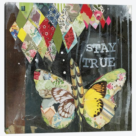 Stay True Canvas Print #KLR162} by Kelly Rae Roberts Canvas Wall Art
