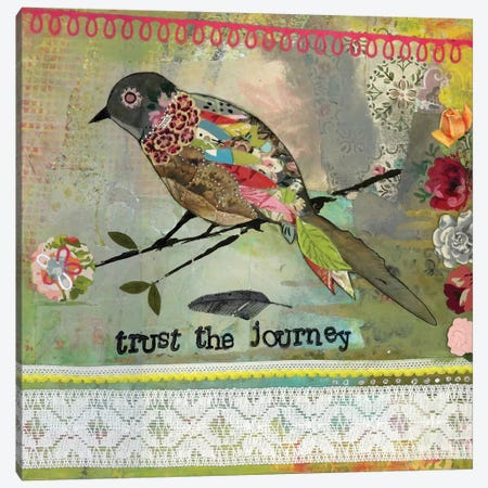 Trust The Journey Canvas Print #KLR177} by Kelly Rae Roberts Canvas Artwork