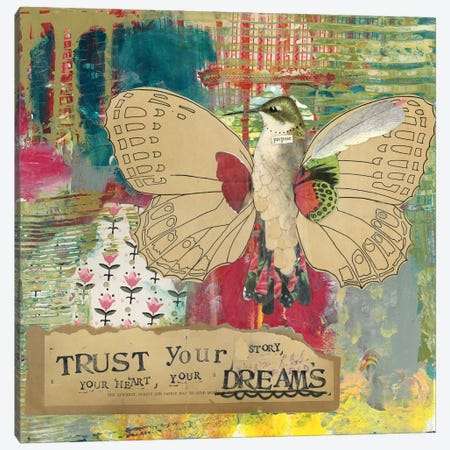 Trust Your Dreams Canvas Print #KLR178} by Kelly Rae Roberts Canvas Art Print