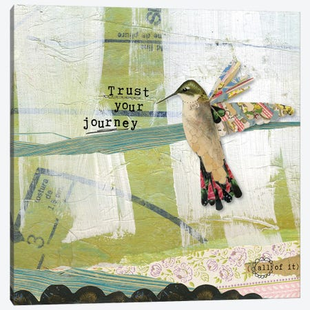 Trust Your Journey Canvas Print #KLR180} by Kelly Rae Roberts Canvas Art
