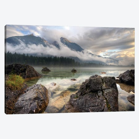 The Rocks Canvas Print #KLR1} by keller Art Print