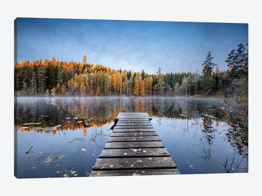 Autumn Pier by keller 1-piece Canvas Art