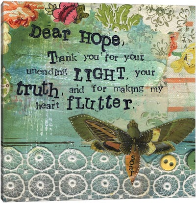 Dear Hope Canvas Art Print