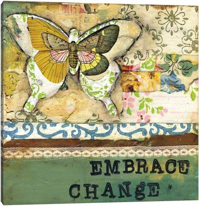 Embrace Change - Affirmation Canvas Art Print