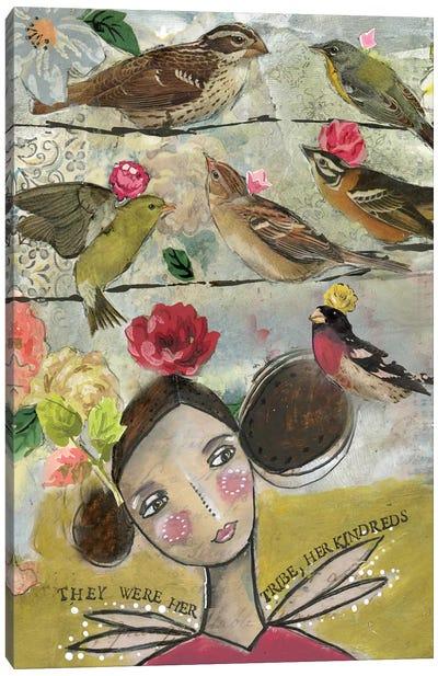 Her Tribe Canvas Art Print