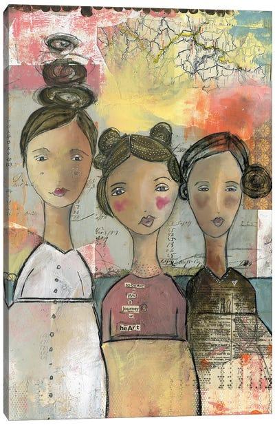 Journey Of Hearts Canvas Art Print