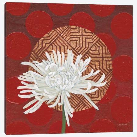 Morning Chrysanthemum IV Canvas Print #KLV10} by Kathrine Lovell Canvas Art Print