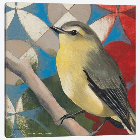 Philadelphia Vireo Canvas Print #KLV12} by Kathrine Lovell Canvas Print
