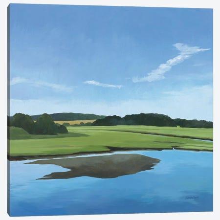 Seapowet Marsh Canvas Print #KLV19} by Kathrine Lovell Art Print