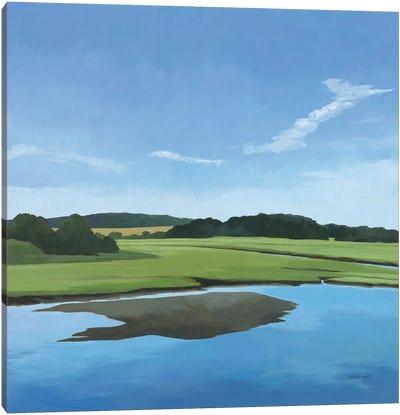 Seapowet Marsh Canvas Art Print