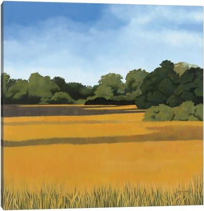 Across from Pond Bridge Canvas Art Print