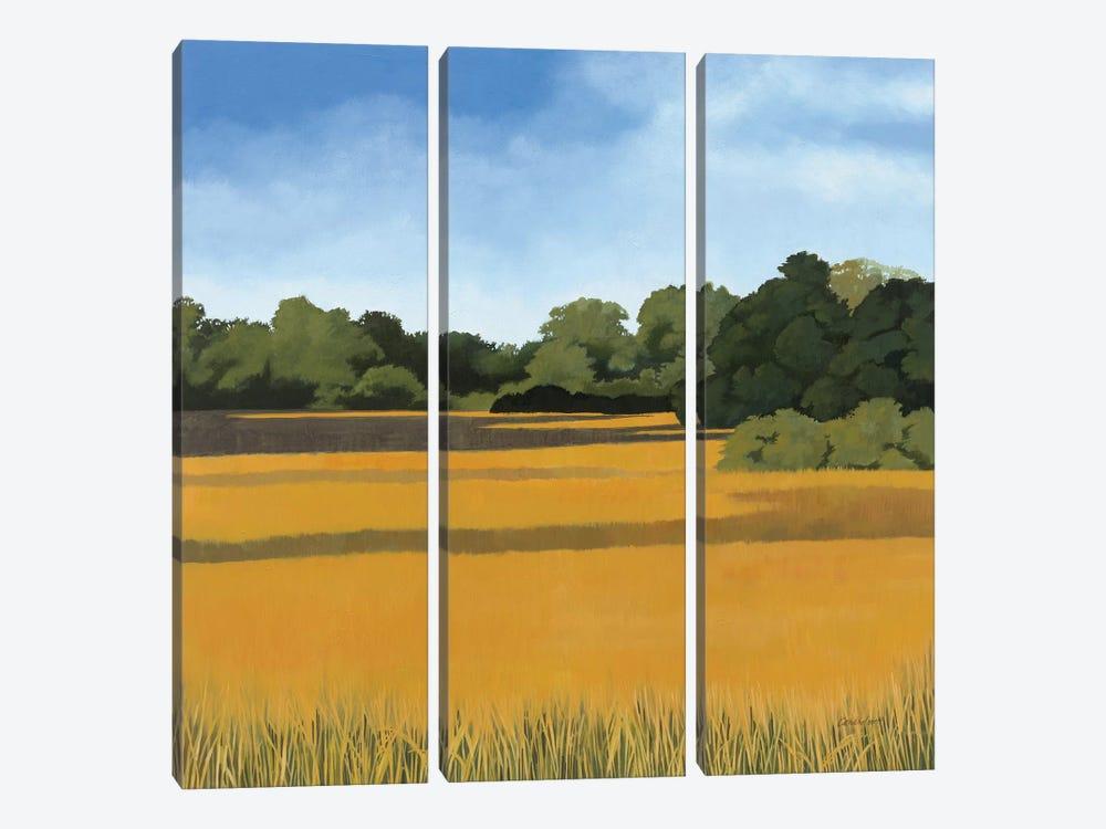 Across from Pond Bridge by Kathrine Lovell 3-piece Canvas Artwork