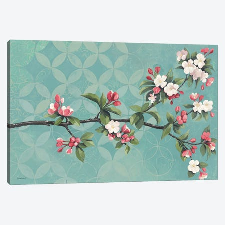 Cherry Blossoms Canvas Print #KLV25} by Kathrine Lovell Canvas Print