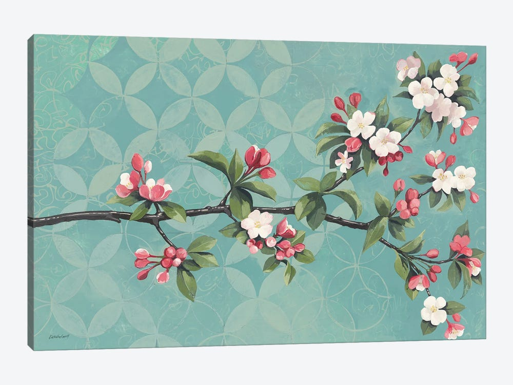 Cherry Blossoms by Kathrine Lovell 1-piece Canvas Art Print