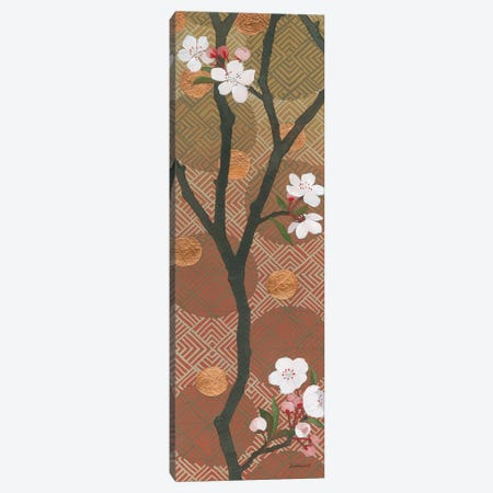 Cherry Blossoms Panel I 3-Piece Canvas #KLV27} by Kathrine Lovell Canvas Print