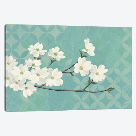 Dogwood Blossoms 3-Piece Canvas #KLV30} by Kathrine Lovell Canvas Print