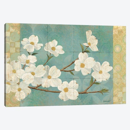 Kimono Blossoms Canvas Print #KLV31} by Kathrine Lovell Canvas Print