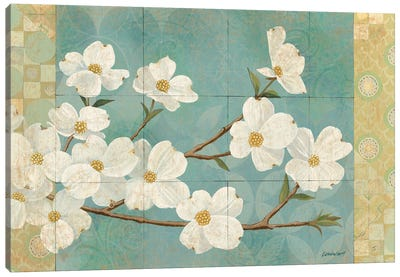 Kimono Blossoms Canvas Art Print