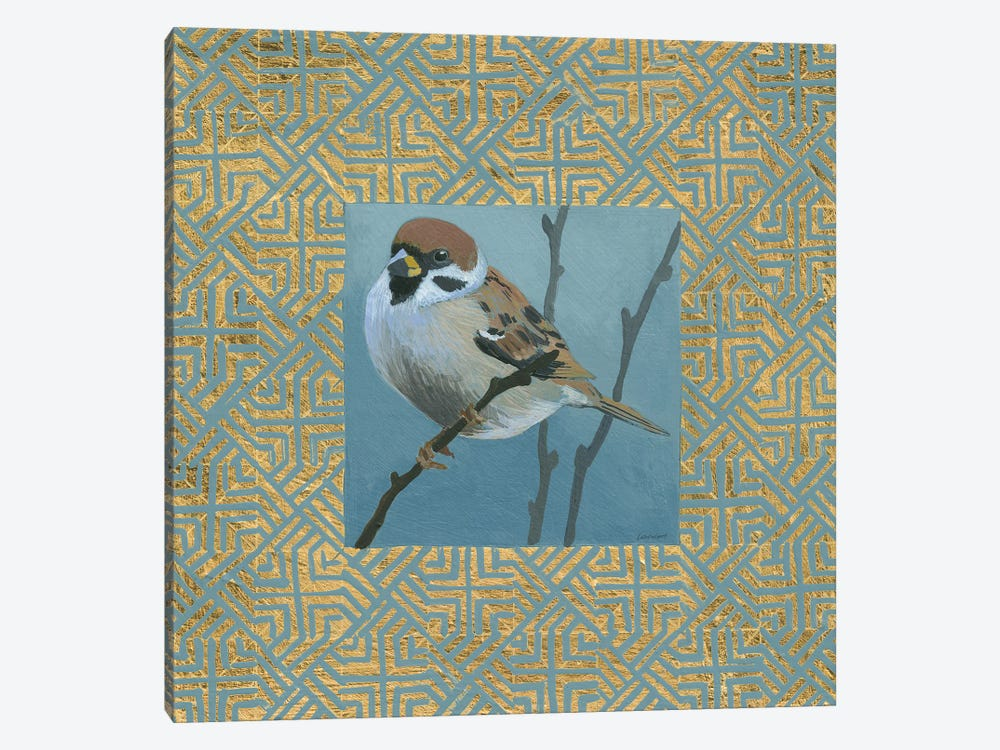 The Sparrow by Kathrine Lovell 1-piece Canvas Art Print