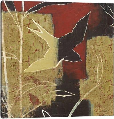 Sun Stems Tile I Canvas Art Print
