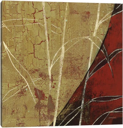 Sun Stems Tile II Canvas Art Print