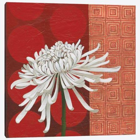 Morning Chrysanthemum II 3-Piece Canvas #KLV8} by Kathrine Lovell Canvas Art Print