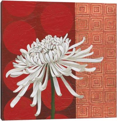 Morning Chrysanthemum II Canvas Art Print