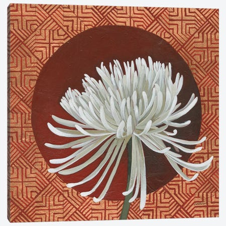Morning Chrysanthemum III 3-Piece Canvas #KLV9} by Kathrine Lovell Canvas Art Print