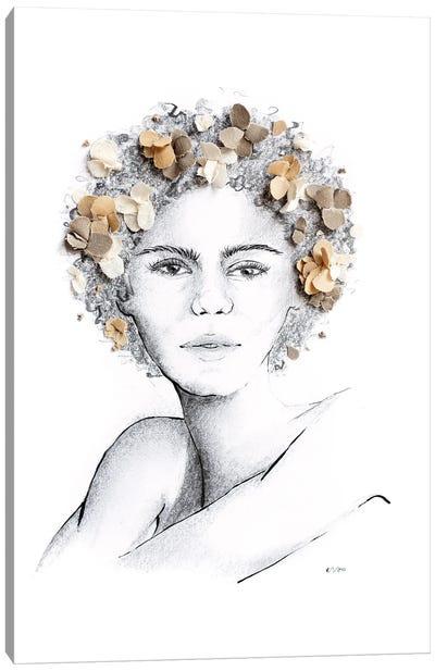 Flower Child Canvas Art Print