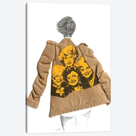Golden Girls Trench Canvas Print #KLY16} by Kelly Lottahall Canvas Print