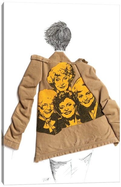 Golden Girls Trench Canvas Art Print