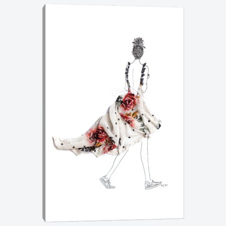 Solo Canvas Print #KLY28} by Kelly L Illustration Canvas Print