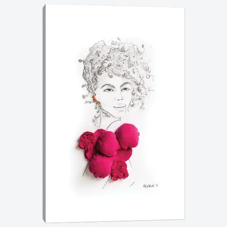 The 80's Called Canvas Print #KLY39} by Kelly Lottahall Canvas Artwork