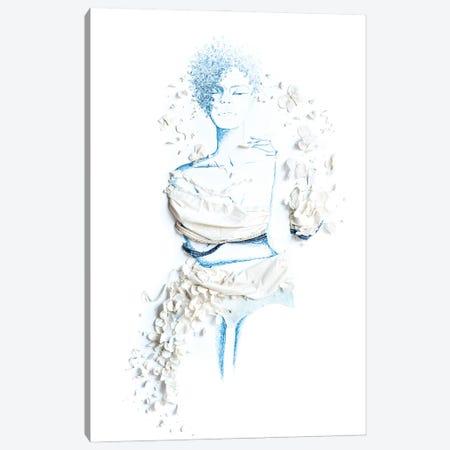 Blue Hue Canvas Print #KLY5} by Kelly L Illustration Art Print