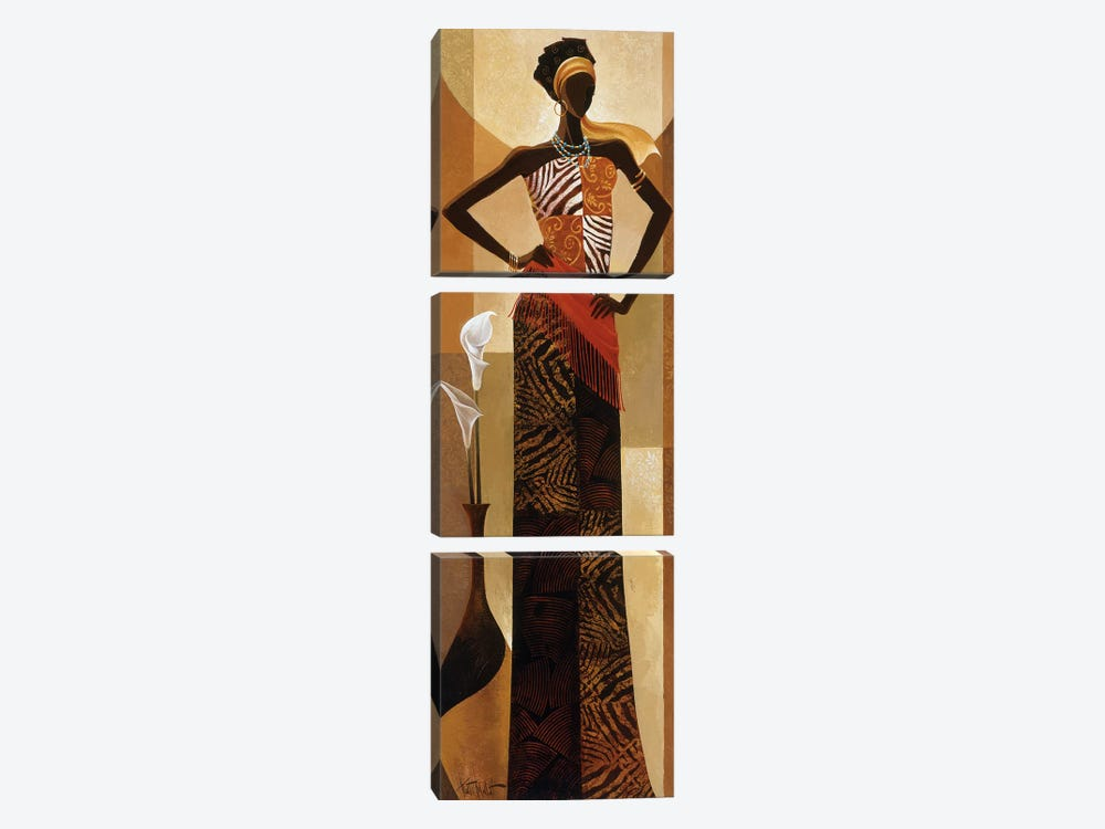 Amira by Keith Mallett 3-piece Art Print