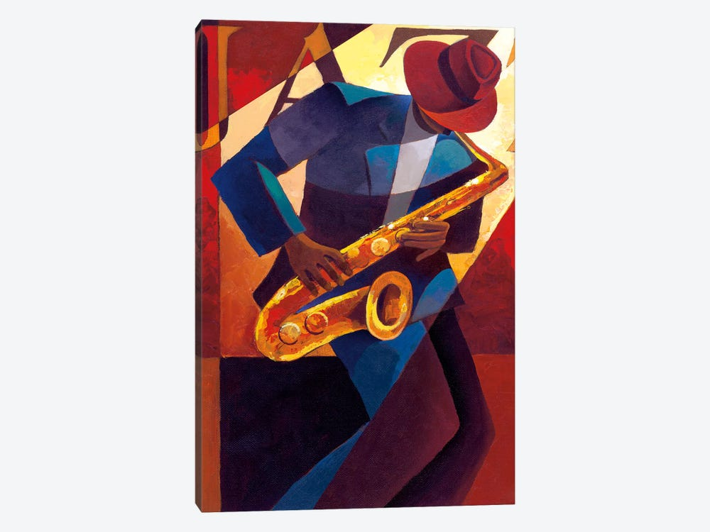Bebop by Keith Mallett 1-piece Canvas Wall Art