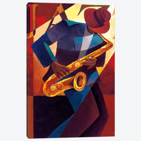 Bebop Canvas Print #KMA13} by Keith Mallett Canvas Print