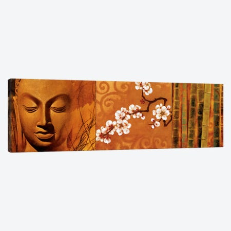 Buddha Panel I Canvas Print #KMA15} by Keith Mallett Canvas Art